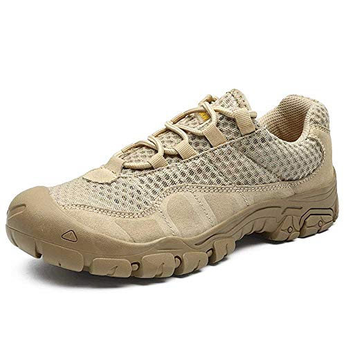 Shoes Outdoor-Sommernetzturnschuhe, rutschfeste LäSsige Amphibienschuhe Mit Weichem Boden, Leichte Kollisionssichere Wanderschuhe, wasserdichte Herren-Sportwanderschuhe ZDDAB