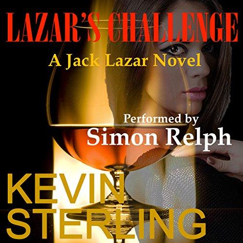 Lazar's Challenge audiobook cover art