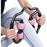 VITOP マッサージローラー フォームローラー 筋膜リリースローラー ストレッチローラー ストレッチ棒 ツボ押し 肩コリ・体のコリ解消 腰痛・筋肉痛を改善 美足 ジム/ホンム/オフィス/アウトドアなど適用 脚やせローラー ヨガ棒 ヨガポール ストレッチ器具