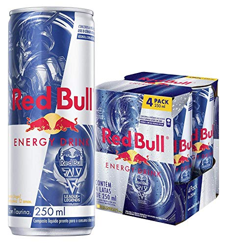 Energético Red Bull Energy Drink Solo Q-jarvan Iv,250 ml 4un