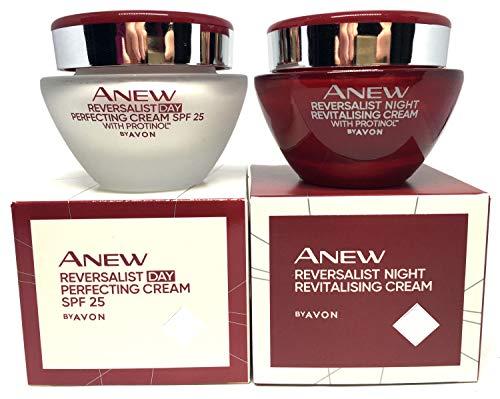 AVON Anew Reversalist Complete Renewal Tagescreme + Nachtcreme Set