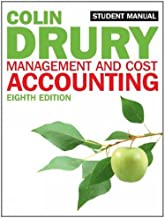 Management and Cost Accounting (Students Manual) by Colin Drury (15-Mar-2012) Paperback