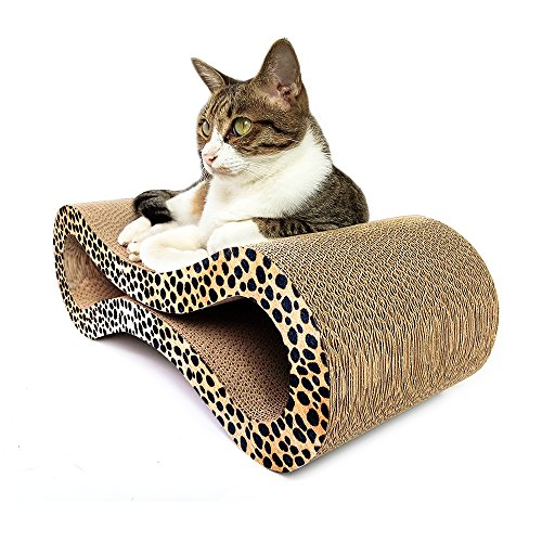 Animals Favorite Deluxe Cat Scratcher Corrugated (Gigantic Triangle)