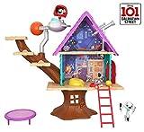 Disney 101 Dalmatian Street Casita del árbol de Dylan con accesorios, juguete niños +5 años...
