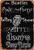 Deep Purple Blechschild Metall Plakat Warnschild Retro