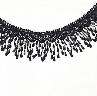 LEORX Cinta de encaje de transición encaje bordado cinta