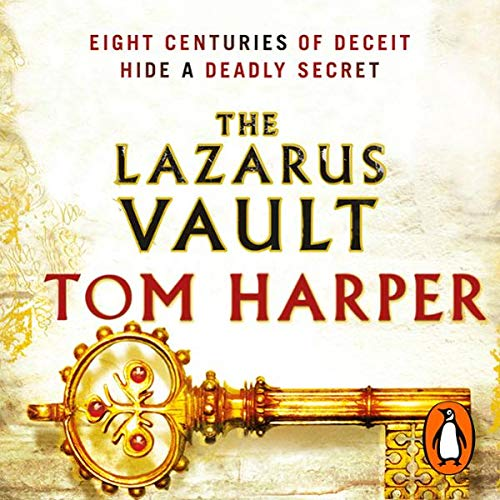 The Lazarus Vault                   By:                                                                                                                                 Tom Harper                               Narrated by:                                                                                                                                 Francis Greenslade                      Length: 14 hrs and 4 mins     50 ratings     Overall 3.8