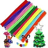 TLBBJ Juguetes artesanales 50/100 unids Multicolor Hecho a Mano DIY Arts and Crafts Materiales Artesanía Creativa para niños Juguetes para niños Sencillo (Color : Multicolour 50 PCS)