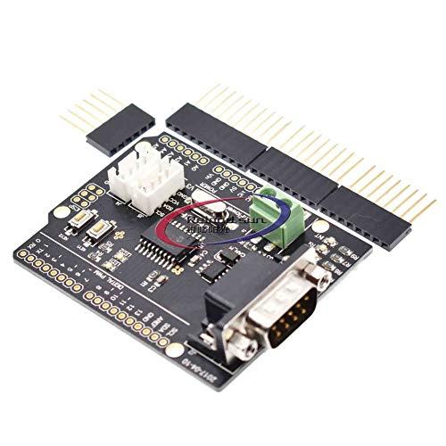 Reland Sun MCP2515 Erweiterungsplatine ABS CAN Bus Shield für CAN2.0 Protokoll