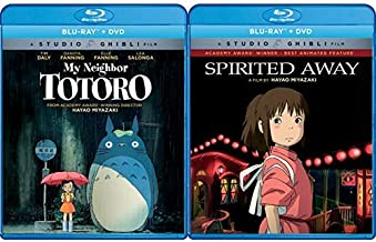 Shout! Factory My Neighbor Totoro (Bluray/DVD Combo) [Blu-ray] with Spirited Away (Bluray/DVD Combo) [Blu-ray]