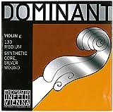 Thomastik Cuerda suelta para 4/4 violín Dominant - cuerda Sol núcleo de plástico, entorchado de plata, mediana