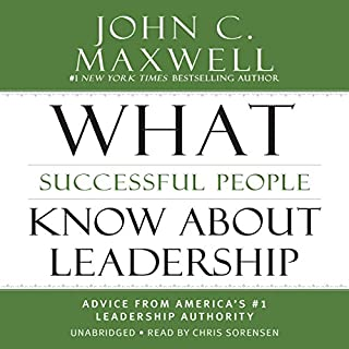 What Successful People Know About Leadership cover art