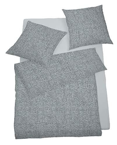 Schlafgut Bettwäsche Soft-Touch | 804 Kiesel - 135 x 200