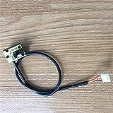 HUYANJUN Tapis de Course Universel Capteur de la lumière Tachymètre Capteur de Vitesse 3Pin 4pin pour Accessoires de Tapis de Course Pièces de réparation (Taille : 4 pin)