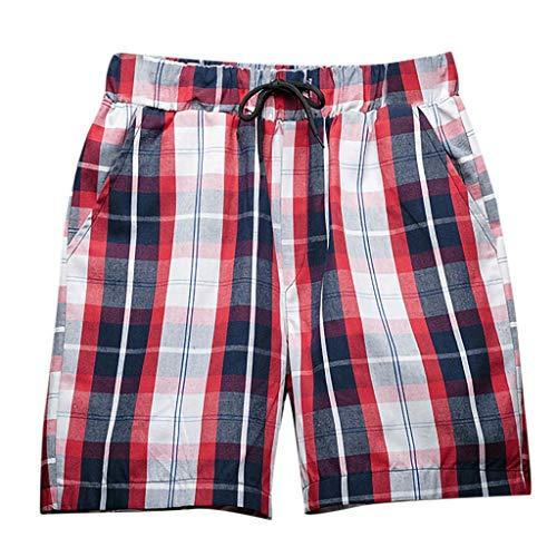 BURFLY Herren Designer Plaid Beach Pants Lose Ferien Surf Shorts Sport Hosen Core Casual Hosen