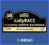 Ecoshirt 99-PPQZ-PTO0 Pegatinas Stickers 50 España Racc Catalunya Costa Daurada 2014 Dp500 Aufkleber Autocollants Adesivi Car Decals Rally Rallies