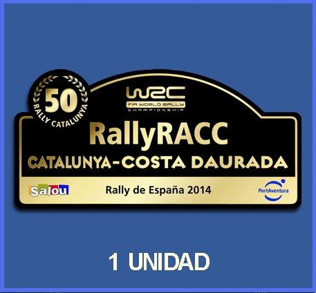 Ecoshirt 99-PPQZ-PTO0 Pegatinas Stickers 50 España Racc Catalunya Costa Daurada 2014 Dp500 Aufkleber Autocollants Adesivi Car Decals Rally Rallies