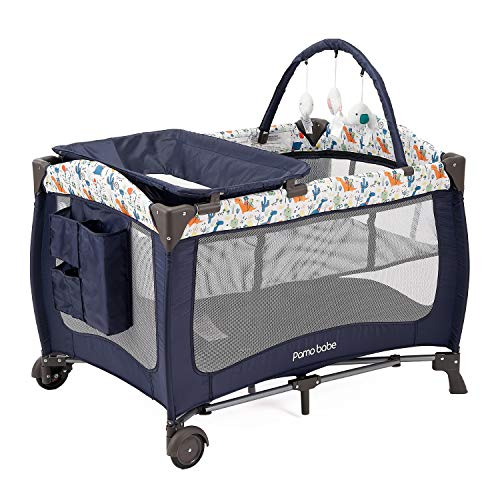 Pamo Babe Deluxe Nursery Center ,Portable Playard with...