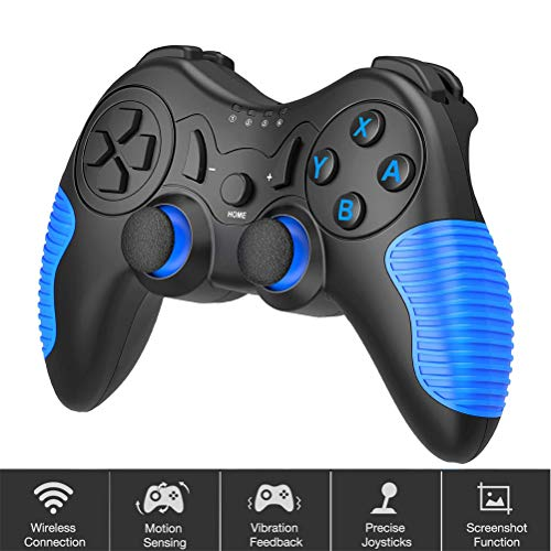 LDFANG Controlador De Juego Inalámbrico, Controlador De Juego Remoto para Nintendo Switch Accesorios para Gamepad Splatoon 2 Versión Xenoblade Chronic Super Smash Bros
