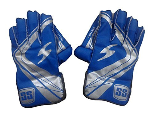 SS College Men s Wicket Keeping Gloves