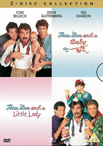 Three Men And A Baby / Three Men And A Little Lady [Reino Unido] [DVD]