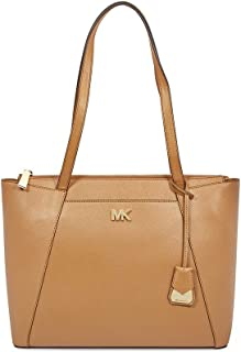 d207d1403a7a Michael Michael Kors Maddie East West Top Zip Leather Tote