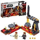 LEGO Star Wars - Duelo en Mustafar, Set de Construcción de la Película Guerra de las Galaxias, con Plataformas Giratorias Deslizante y 2 Minifiguras y Espadas Láser (75269) , color/modelo surtido