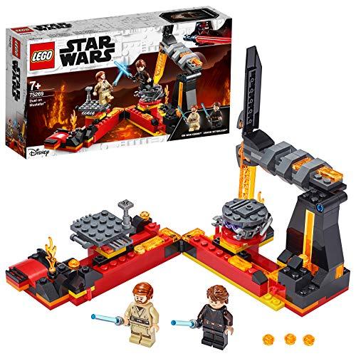 LEGO 75269 StarWars DueloenMustafar, Juguete de Construcción con Mini Figuras de Anakin Skywalker y OBI-WAN Kenobi