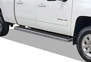 APS iBoard Running Boards 6 inches Custom Fit 2007-2018 Chevy Silverado GMC Sierra &..