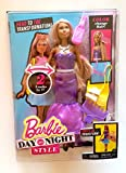 Barbie Day to Night Style Head to Toe Transformation 2 Looks in 1 with Reversible Fashions and Color Change Hair