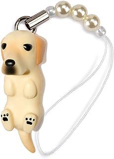 ペットラバーズ 犬種 Dog 92 Labrador Retriever ラブラドール イエロー ビーズ ストラップ DN-1102