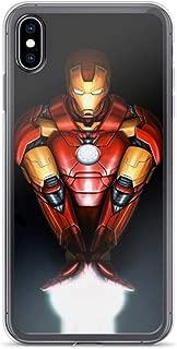 iPhone 6/6s Pure Anti-Shock Clear Case Iron-Man Mark 42 Tony-Stark Stan Lee Avengerss Movie Shield Comic Superhero