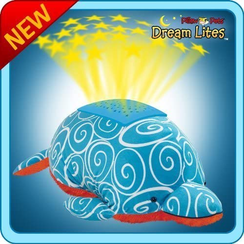 My Pillow Pets Dream Lites Swirly Dolphin by CJ Pillow Pets