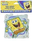 Amscan International Spongebob Happy Birthday Letter Banner