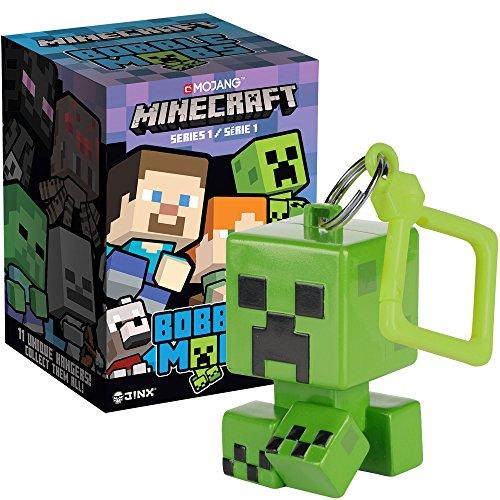 Minecraft Jinx Bobble MOBS Schlüsselanhänger Blind Box (One Mystery Figur), Series 1