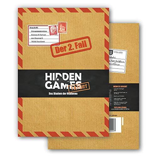 Hidden Games Tatort Krimispiel Fall 2 Das Diadem der Madonna, Escape...