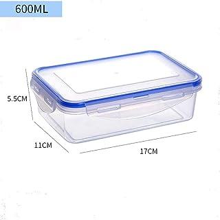HHQSC Plastic crisper box Food grade PP storage container, reusable plastic food storage container with lid for storing fr...