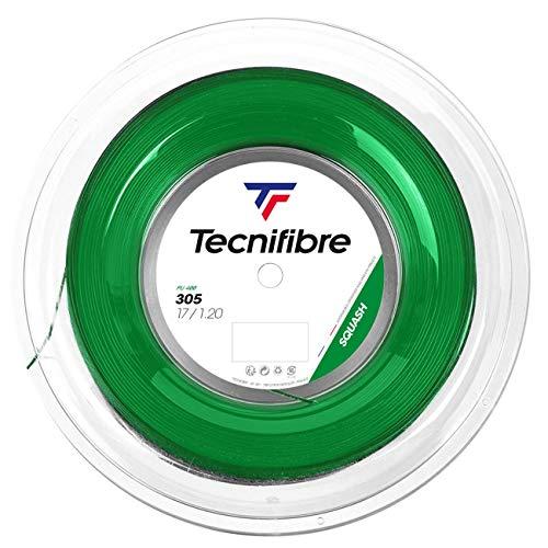 テクニファイバー(Tecnifibre) スカッシュ用ストリング、ゲージ1.20mm 200m CLASSIC LINE 305 1.20 TF 120R グリーン 200m