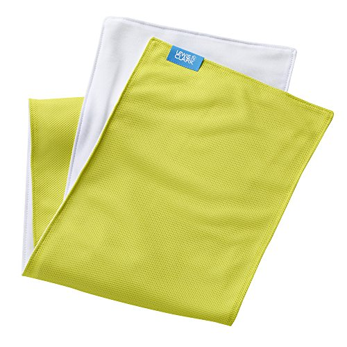 Lewis N. Clark Ice Mate Cool Towel, Lime, One Size