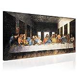 Topquadro XXL Wandbild, Leinwandbild 100x50cm, Das Letzte