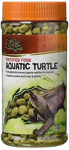Zilla Reptile Food Aquatic Turtle Fortified, 6-Ounce