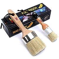 Chalk Wax Paint Brush Set Furniture