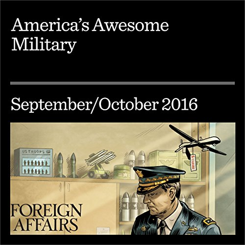 America's Awesome Military audiobook cover art