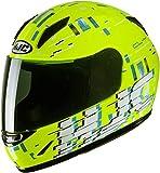 HJC Helmets Casco JUNIOR CL-Y GARAM YELLOW/BLUE S