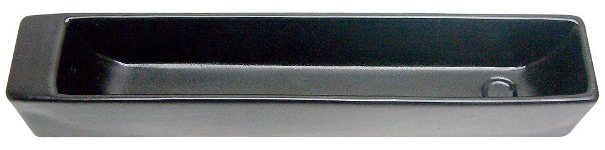 スリッパチェスをする癒すノルコーポレーション お香立て ラスター インセンスホルダー ブラック OS-LUH-1-3