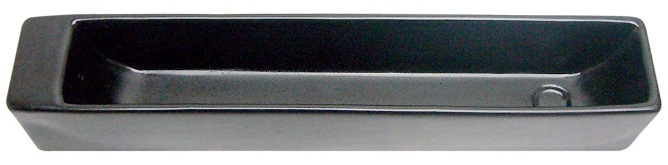 ノルコーポレーション お香立て ラスター インセンスホルダー ブラック OS-LUH-1-3