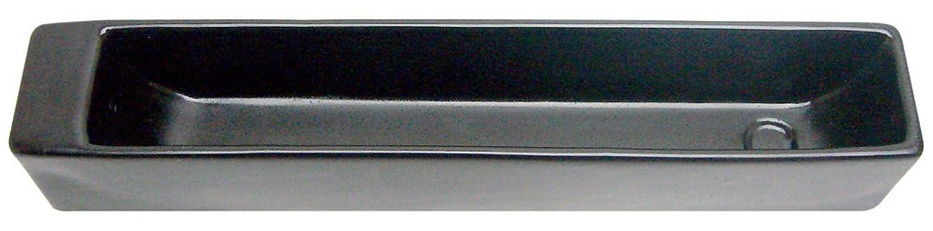 残り物あごお母さんノルコーポレーション お香立て ラスター インセンスホルダー ブラック OS-LUH-1-3