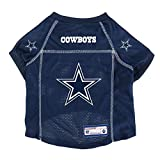 Littlearth NFL Dallas Cowboys Pet Jersey, Large,Navy