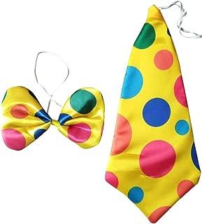Multicolore Ptit Clown 14525 Cravate G/éante de Clown 50 X 20 cm
