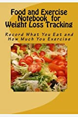 Food and Exercise Notebook for Weight Loss Tracking: Record What You Eat and How Much You Exercise Diary
